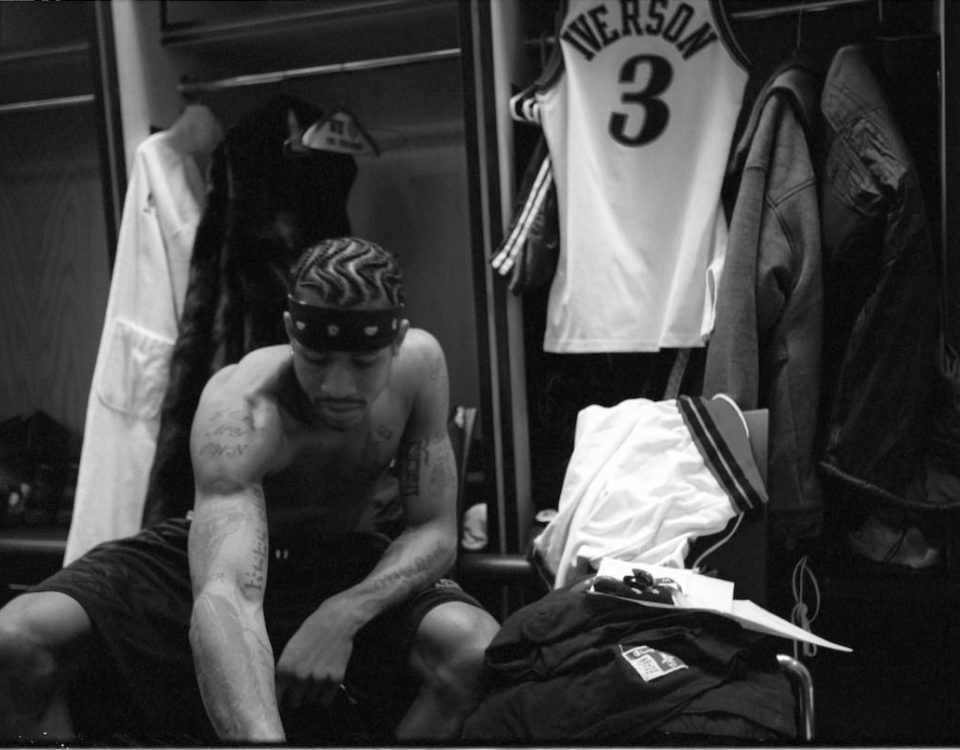 Allen Iverson Locker Room